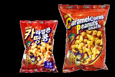 Crown Caramel Corns Peanuts Snack