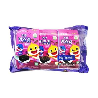 Baby Shark Seaweed Snack 6 Packs