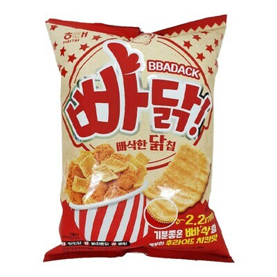 Bbadack Fried Chicken Chip 4.23oz