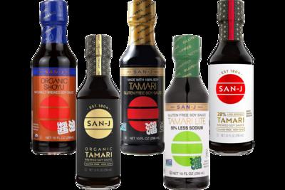 San-J Soy Sauce 10oz