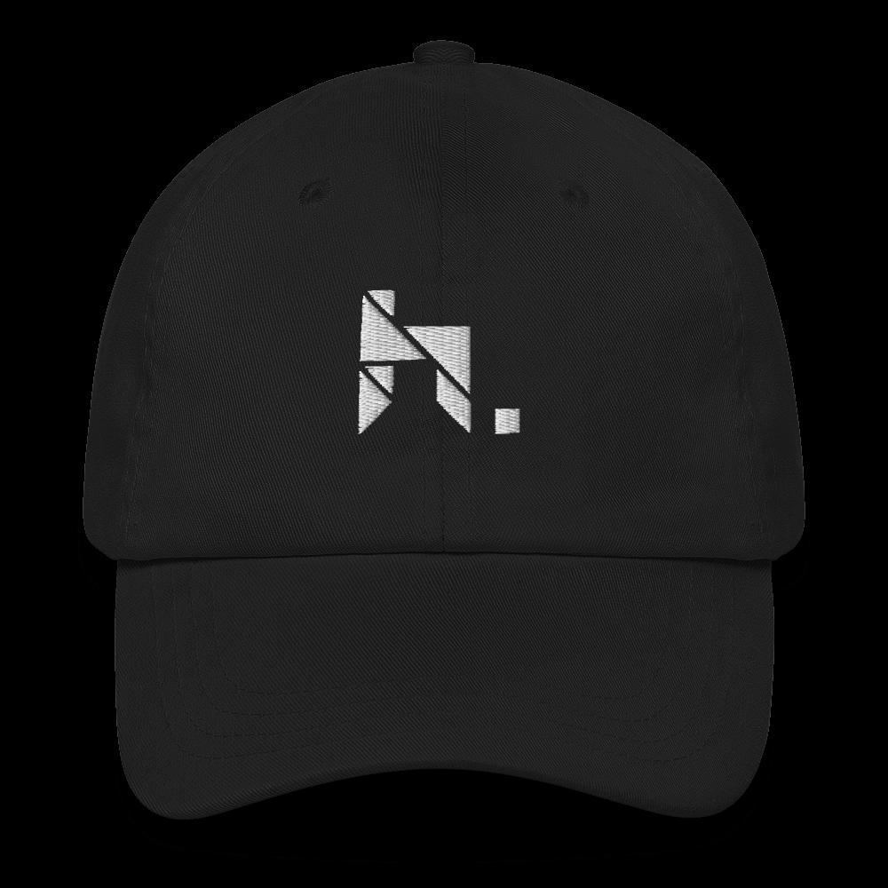 hymnn. Logo Dad Hat (Black)