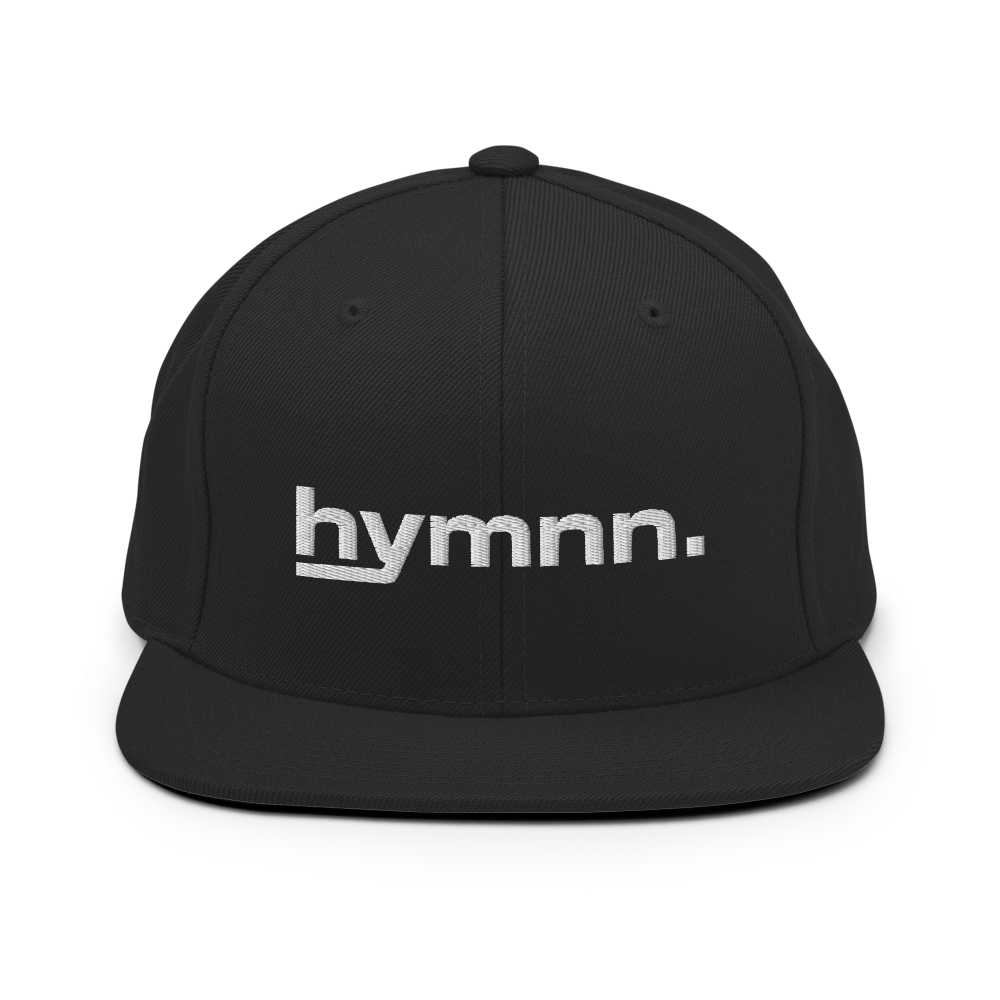 hymnn. Snapback Hat (Black)