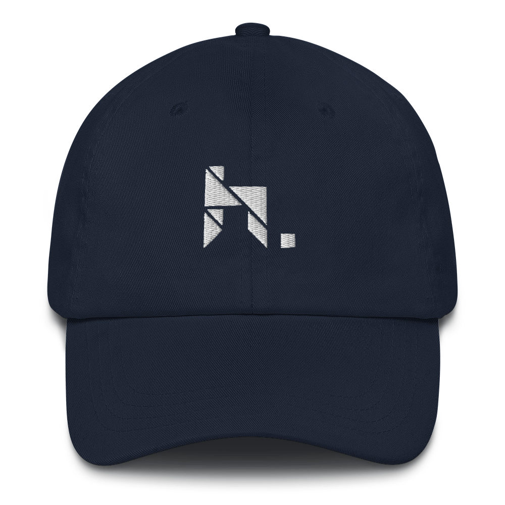 hymnn. Logo Dad Hat (Navy)