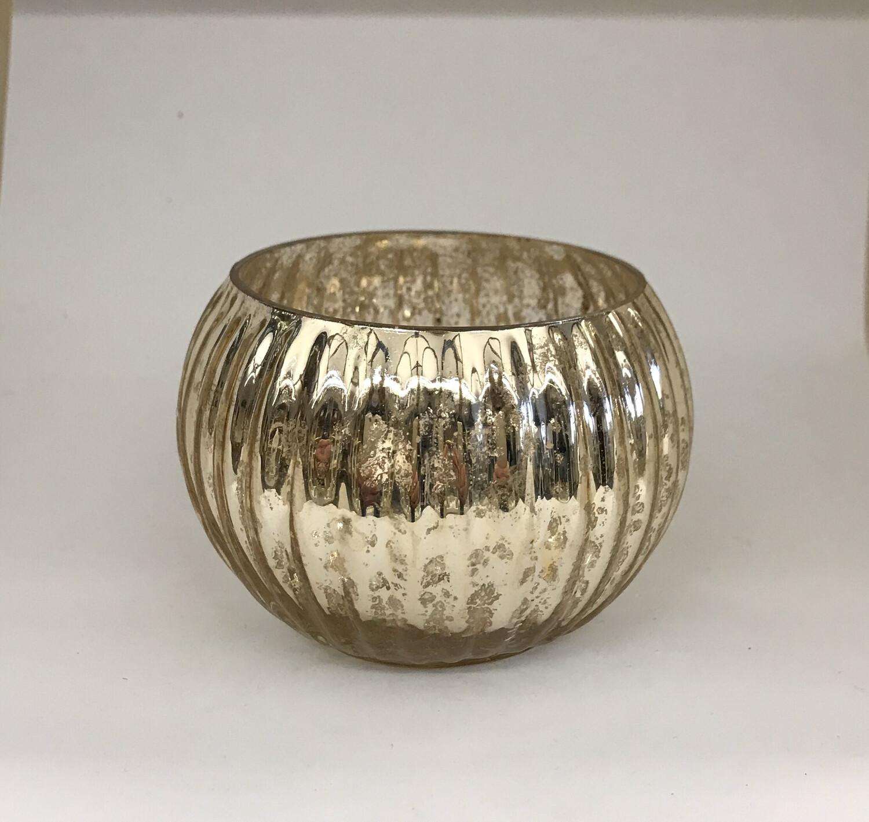 Silver Luxe Pumpkin -NEW