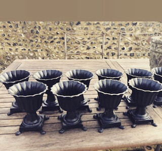 Cast Iron Mini Urns