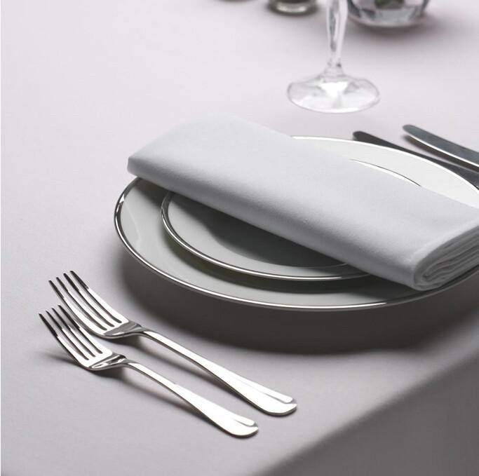 Cotton Feel Table Linen - Medrite Grey