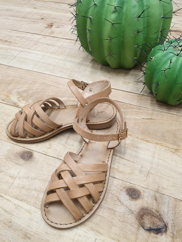 Sandalo in cuoio