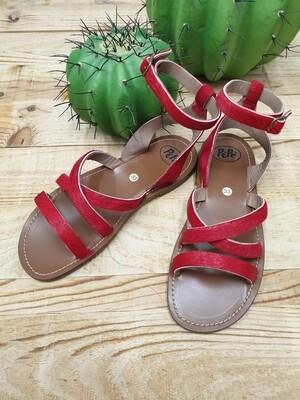 Sandalo Pony Rosso