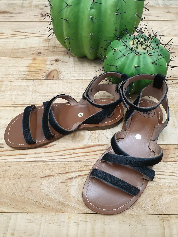 Sandalo Pony Nero