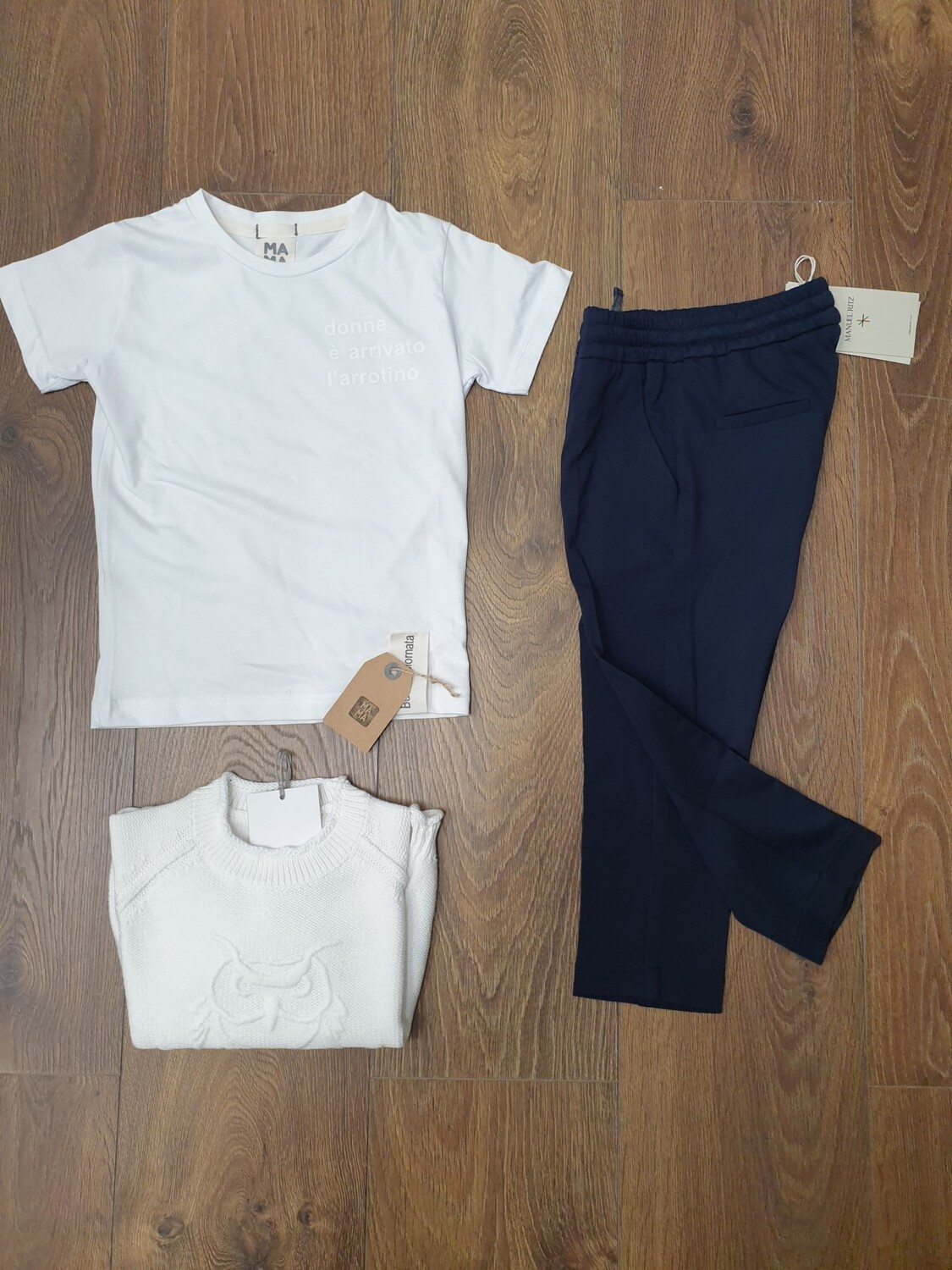 Completo outfit 3 pezzi