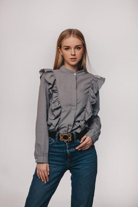 Рубашка Holly grey