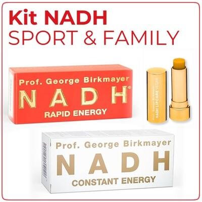Kit NADH SPORT & FAMILY (1+1)