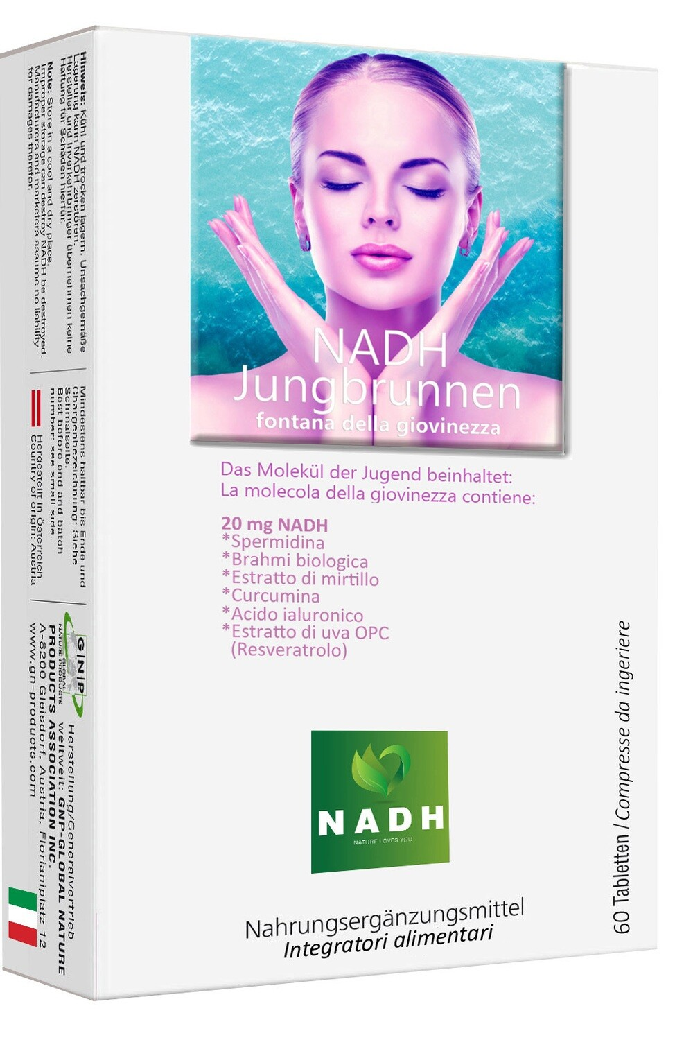 NADH JUNGBRUNNEN - Fountain of Youth