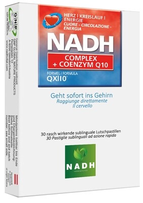 NADH plus UBIQUINONE COENZIMA Q10