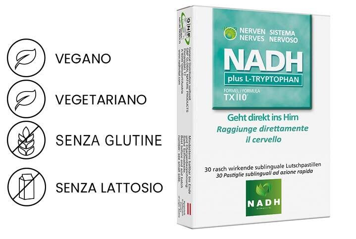 NADH plus TRIPTOFANO
