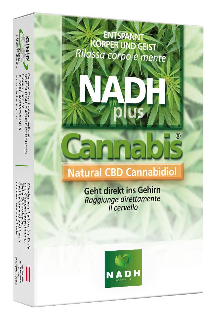 NADH plus CBD-Cannabidiol
