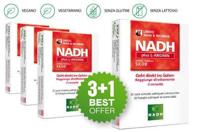NADH plus L-ARGININ (3+1)