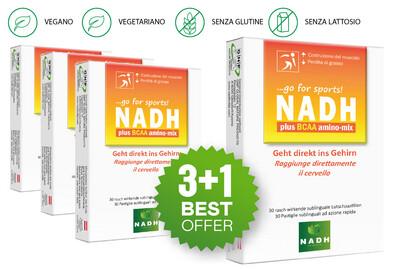NADH plus BCAA amino-mix (3+1)