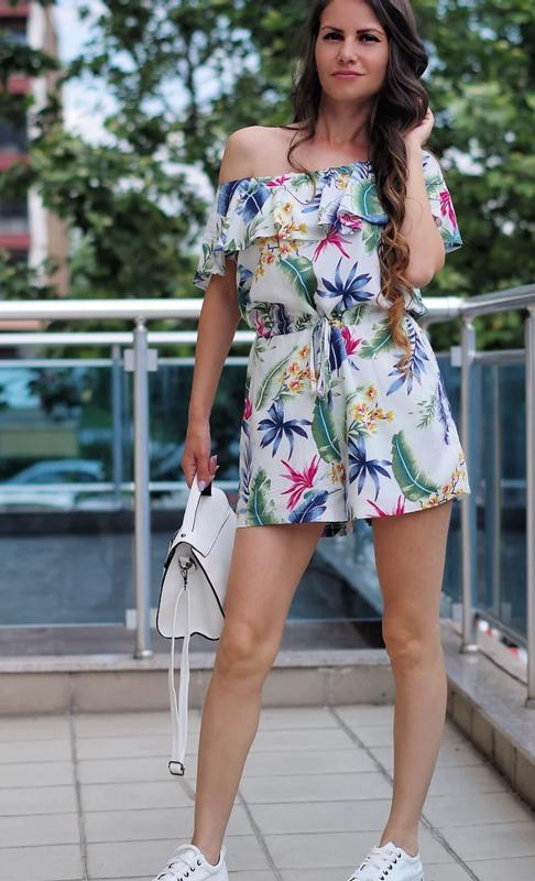 Дамски Гащеризон- Summer flower