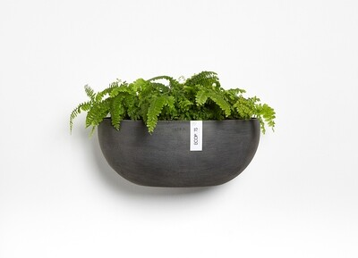 Ecopots Sofia Wall 43 Dark Grey