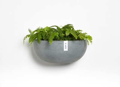 Ecopots Sofia Wall 43 Blue Grey