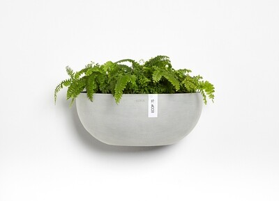 Ecopots Sofia Wall 43 White Grey