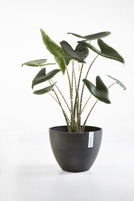 Ecopots Antwerp 40 Dark Grey