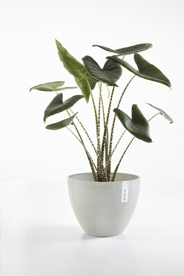 Ecopots Antwerp 40 White Grey