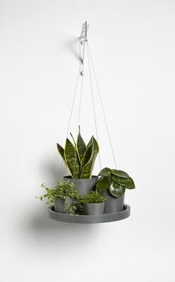 Ecopots Hanging Saucer 36 Grey
