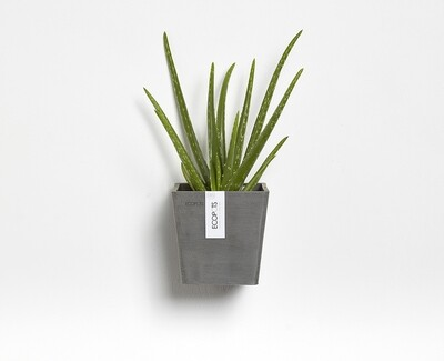 Ecopots Manhattan Wall S 15 Grey