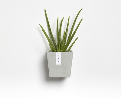 Ecopots Manhattan Wall S 15 White Grey