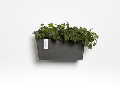 Ecopots Manhattan Wall M 35 Dark Grey