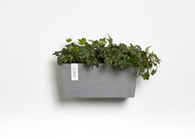 Ecopots Manhattan Wall M 35 Blue Grey