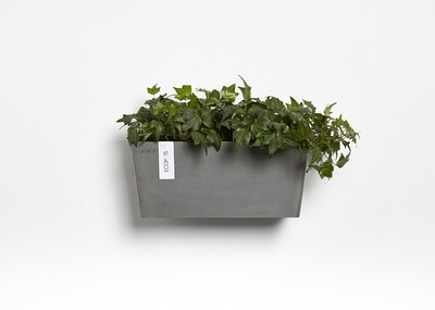 Ecopots Manhattan Wall M 35 Grey