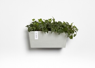 Ecopots Manhattan Wall M 35 White Grey