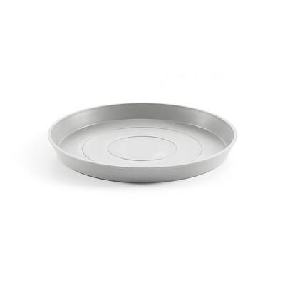 Ecopots Saucer Round 50 White Grey