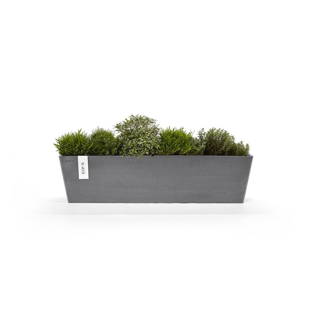 Ecopots Bruges 80 Grey