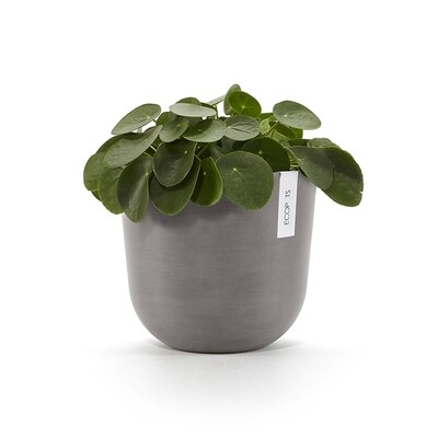 Ecopots Oslo 25 Taupe + water reservoir