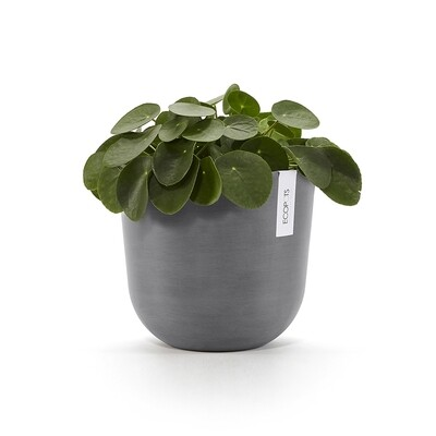 Ecopots Oslo 25 Grey + water reservoir