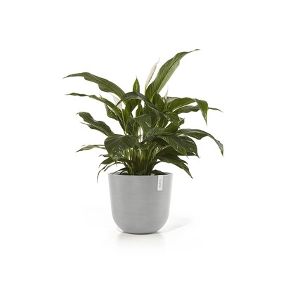 Ecopots Oslo 45 White Grey