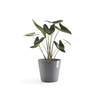 Ecopots Amsterdam 30 Grey + water reservoir