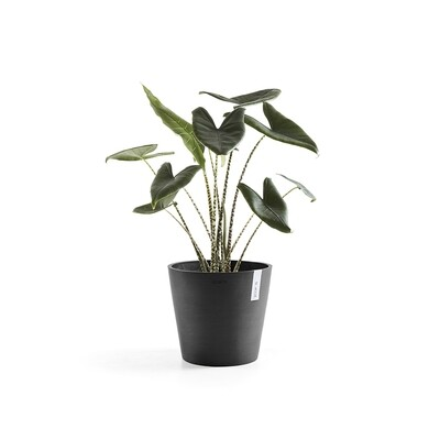 Ecopots Amsterdam 30 Dark Grey + water reservoir