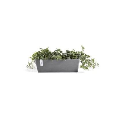 Ecopots Bruges 45 Grey + water reservoir
