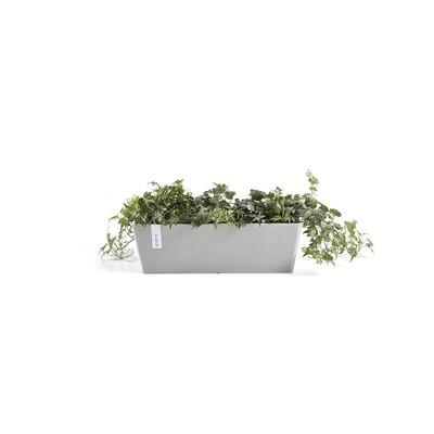 Ecopots Bruges 55 White Grey