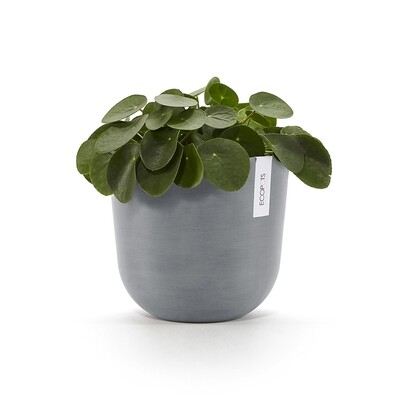 Ecopots Oslo 25 Blue Grey + water reservoir