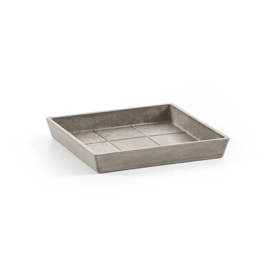 Ecopots Saucer Square 20 Taupe