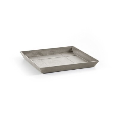 Ecopots Saucer Square 40 Taupe