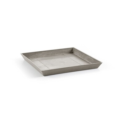 Ecopots Saucer Square 50 Taupe