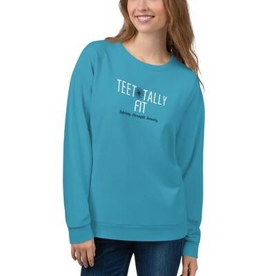 Unisex Sweatshirt: Teetotally Fit