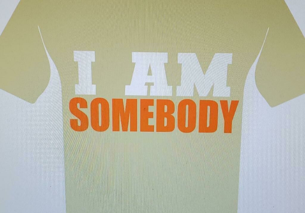 I Am Somebody (Sand Color) T-Shirt